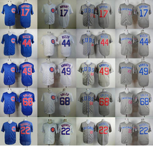 Can Mix Order Chicago Cubs 17 Kris Bryant 12 Kyle Schwarber 49 Jake Arrieta 44 Anthony Rizzo 22 Addison Russell Soler Blue White