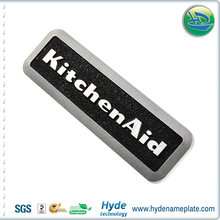 China Supplier Embossed or Debossed Cold Extrusion Aluminum Nameplate Maker