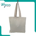 China factory plain canvas tote bag best design