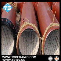 Ceramic Lined Composite Steel Pipe,Al2O3 Material