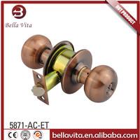 2016 North & South America Entrance Tubular knobset locks made in China