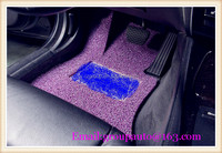High quality of universal rose silver pvc car mat