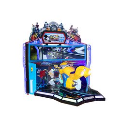 Jiaxin Hot Sale Coin Operated Racing AR Game Machine Motorcycle