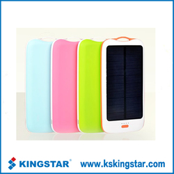 wirless portable solar cell phone usb charger for iphone samsung