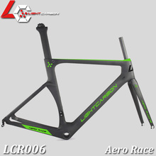 Super Aero Race Carbon Road Frame Aerodynamic Design Carbon Road Racing Frame LCR006