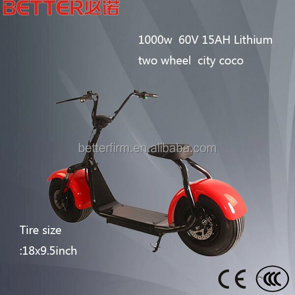 60v 12ah China 1000W city-coco scooter in yongkang (BFEM1000)