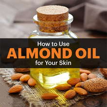 Pure Organic Sweet,Bitter Almond Oil