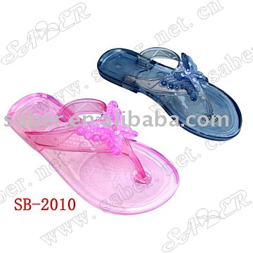 SB-2010 PVC Jelly Slipper