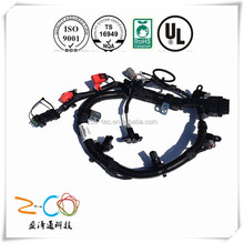 High quality custom motorcycle wiring harness with custom design and tooling services