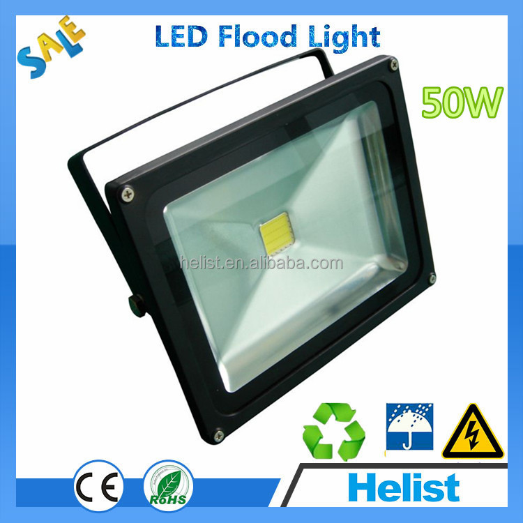 Good heat dissipation!!! Die cast aluminum housing led flood lamp / led floodlight
