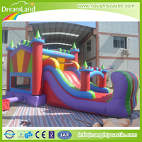 Party Rental Inflatable Bouncer Slide,Event Inflatable Castle Slide ,Colorful Jumping castle