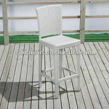 Resin Wicker Outdoor Bar Height Stools(DW-BC004)
