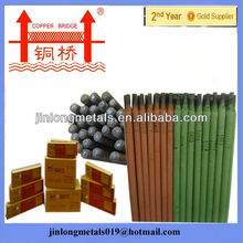 Less smoke Copper Bridge brand kobelco electrodes for welding electrode j421