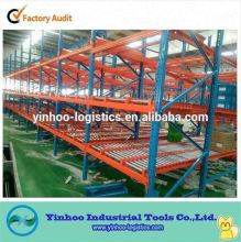 high quality angle iron storage fluent/flow/rolling racking