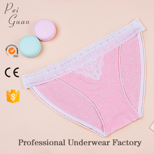hot sale new style young floral lace cotton sexy woman panty girls underwear panties for sale