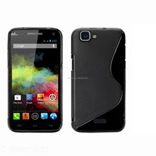 for wiko rainbow black s line case tpu case high quality factory price