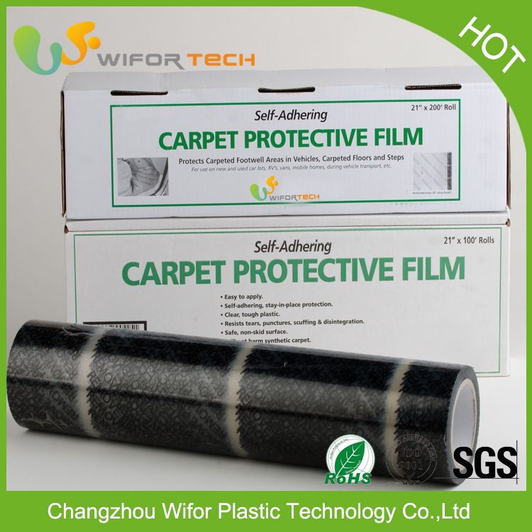 Best Price Low Density PE Black And White Protective Film