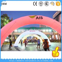 inflatable arch for entertainment and advertising