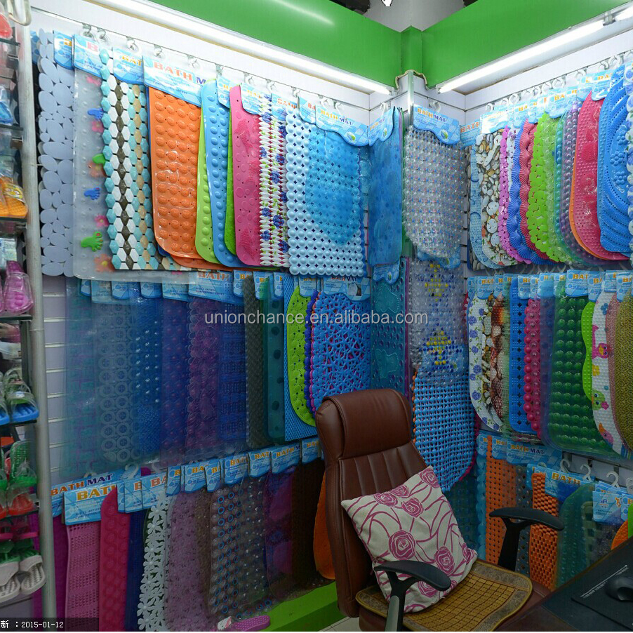 Wholesale PVC Bathroom Mat Anti Slip BathMat & PVC Bath Mat