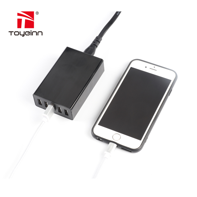 5V 8A 5 Ports USB Charger Travel Wall Charger Adapter Portable AU EU UK US Plug Mobile Phone Charger for iPhone Tablet