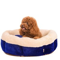 R0969H Hot-selling soft overstuffed luxury pet sofa bed cat bed dog beds