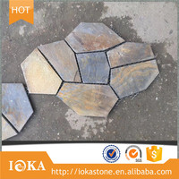 Split Slate Flake Nature Flagstone Tile