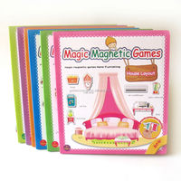 Happy Kids Magic Magnetic DIY Series Education Games