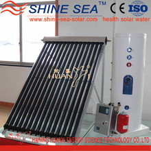 China supplies heat pipe solar water heater price in india