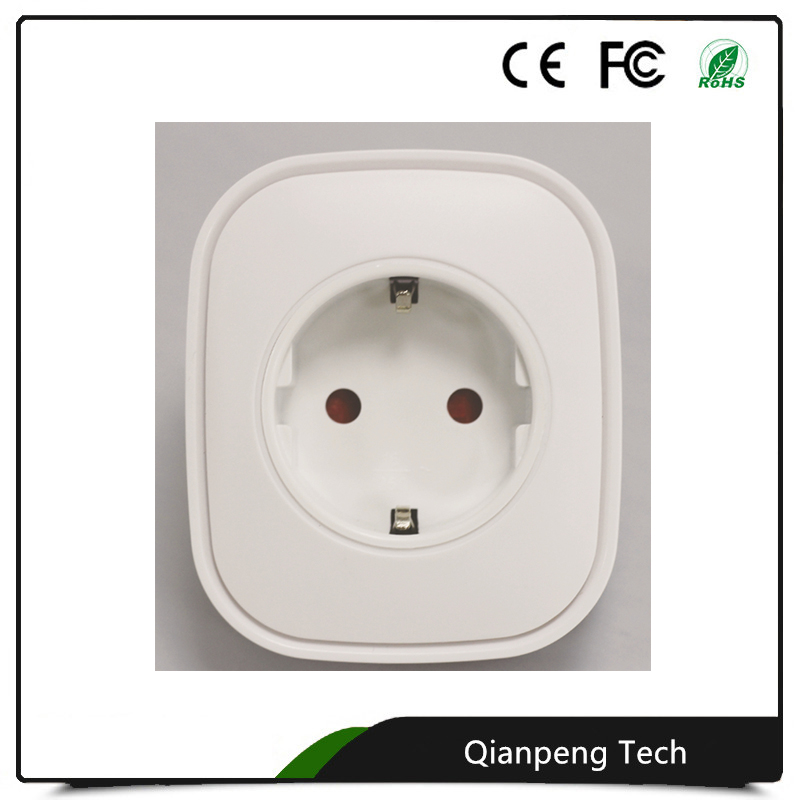 2017 New Arrival Multi Function wireless Z-Wave EU 868 smart home automatic IOT Integrate power socket plug