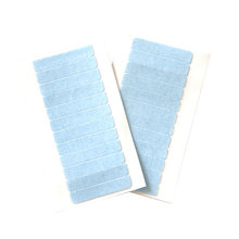 Professional hair extension tools replacement super blue adhesive tape sheet for tape hair