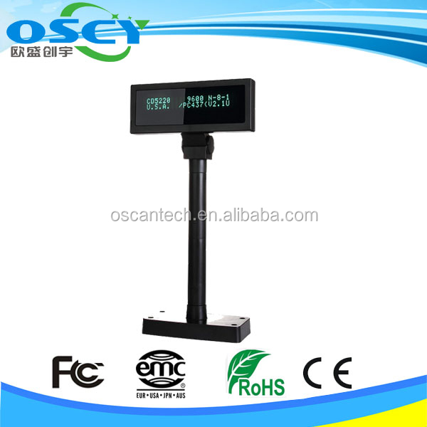 Factory cheap LED customer display for pos system