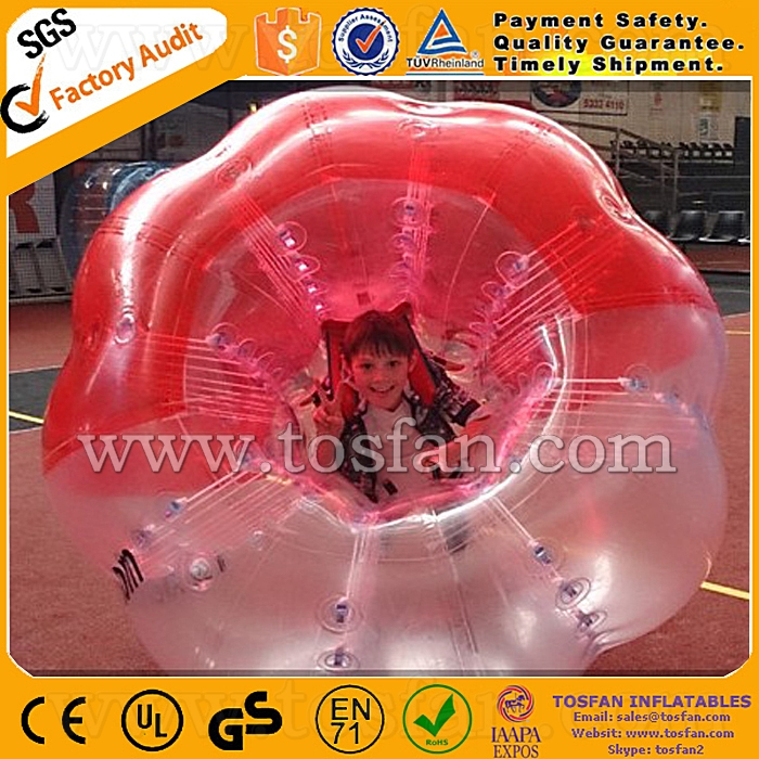 Fun sport TPU giant inflatable knocker <strong>ball</strong> for human size TB096