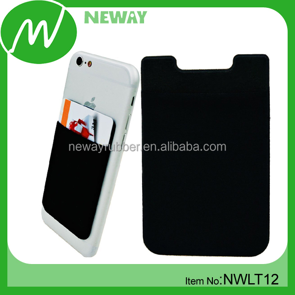 3M Sticky Silicone Custom Phone Wallet