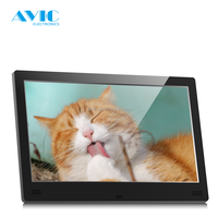 AVIC OEM 10 inch WiFi Bluetooth G- Sensor Android Tablet PC with Passive Infra Red Sensor Digital Photo Frame for restaurants