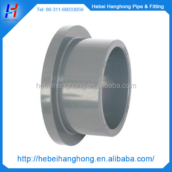 hot sell delicate multicolor new arrival pvc pipe fitting pvc flange