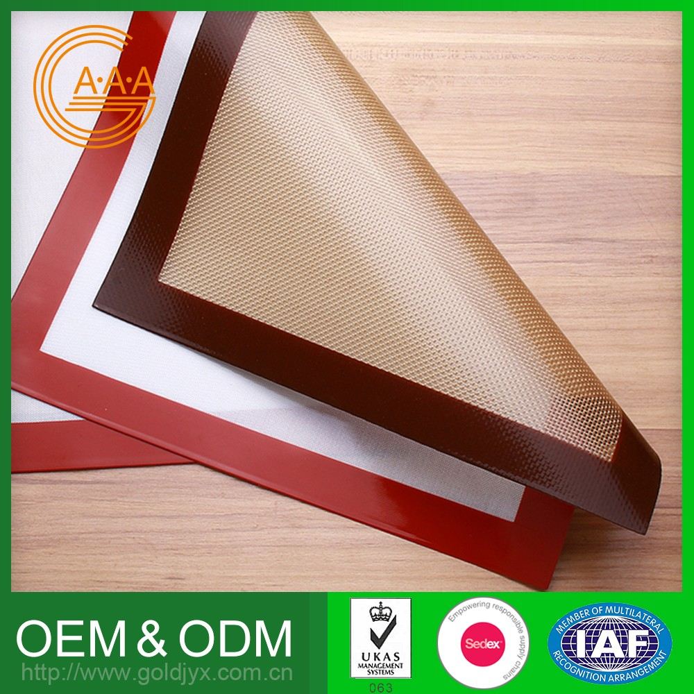 High Quality Silicone Baking Sheet Custom Design Design Your Own Silicone Rubber Baking Oven Mat