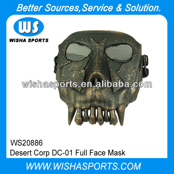 airsoft tactical Desert Corp DC-01 Full Face Mask