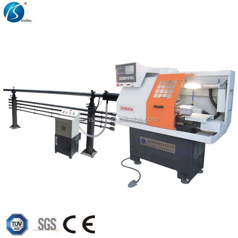 small cheap cnc lathe CK0640A metal cutting machine with CE
