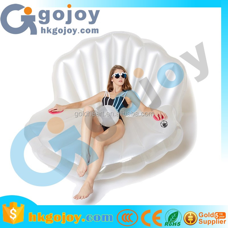 2017 new premium inflatable boat accessories,water floating inflatable shell mattress