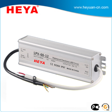 220v ac to 12v dc led waterproof switching power supply 60w 12v 5a