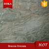 Breccia Oniciata Marble Tiles For Floor ,Beige Flooring slab