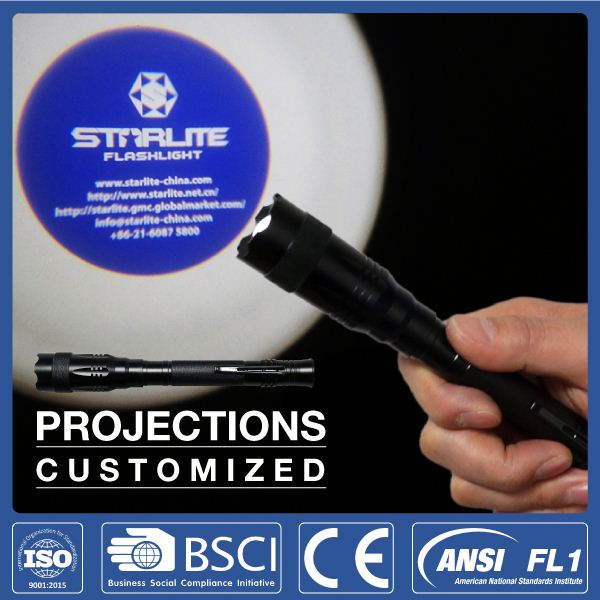STARLITE projective 2aa new product advertising led torch light