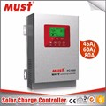 efficiency >99% 45a/60a high quality solar charge controller for home solar system