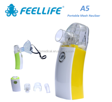 Feellife Medical Rechargeable Mini USB Inhaler / Pocket Handheld Mesh Ultrasonic Humidifier for Adult Kid (A5)
