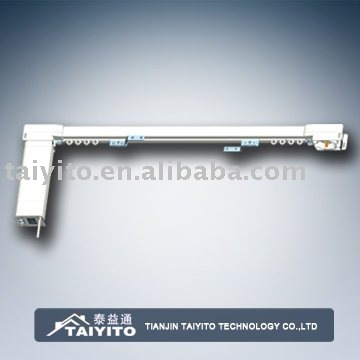 TAIYITO electric&manual curtain Aluminum alloy track/rail/pole
