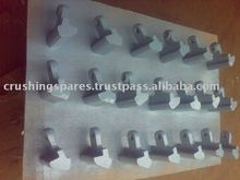 Metso Barmac VSI Spares / Impactor wear parts like Rotor Tips, Impellors, Anvils