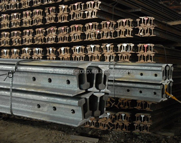 Q235 12kg railway light steel rail on sale