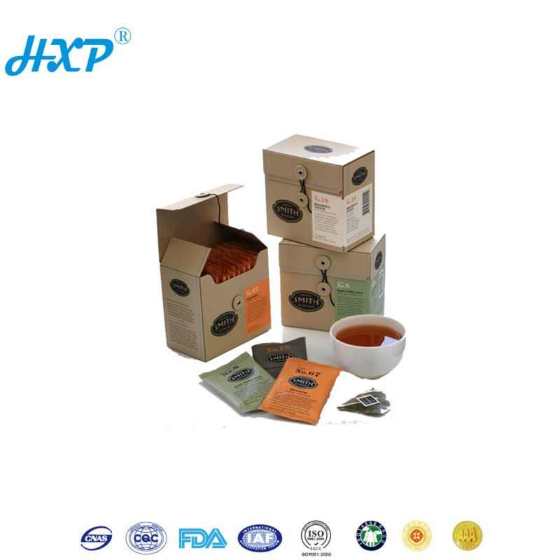 Packaging box 3-Layer B-Flute Flexo Twisted Decorative Modern Japanese Tea Boxes