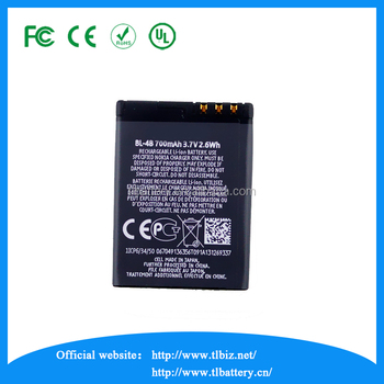 3.7v Battery For Nokia 900 mah BL-4CT5310/7310C/7210C/6600F/5630XM Mobile Phone Battery For Nokia
