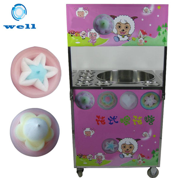 Flower Cotton Candy Making Machine